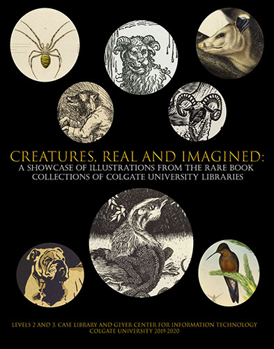 Current exhibit: Creatures, Real and Imagined